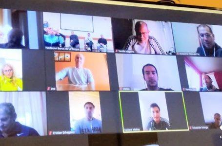 Reunión virtual con coordinadores Regionales