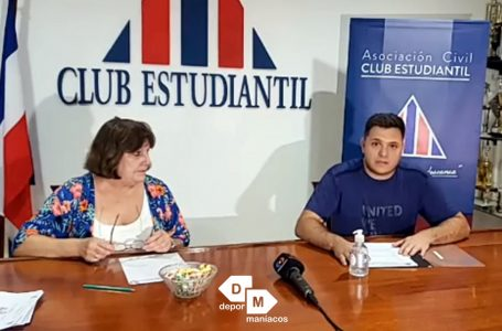 """Estudiantil presentó actividades deportivas: """"Esperamos lograr los objetivos"""""""