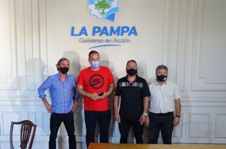 Reunión con autoridades de la Confederación Argentina de Gimnasia