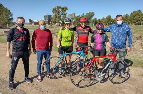 Ciclismo: el subsecretario de Deportes viajó a General San Martín